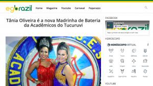 Do EGOBrazil, em São Paulo 24/11/2019 04h36